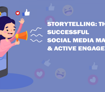 social media marketing and active engagement