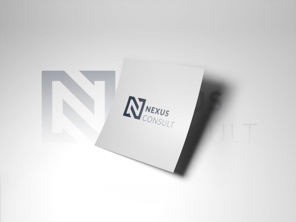 An image of a piece of white paper with the Nexus Consult logo