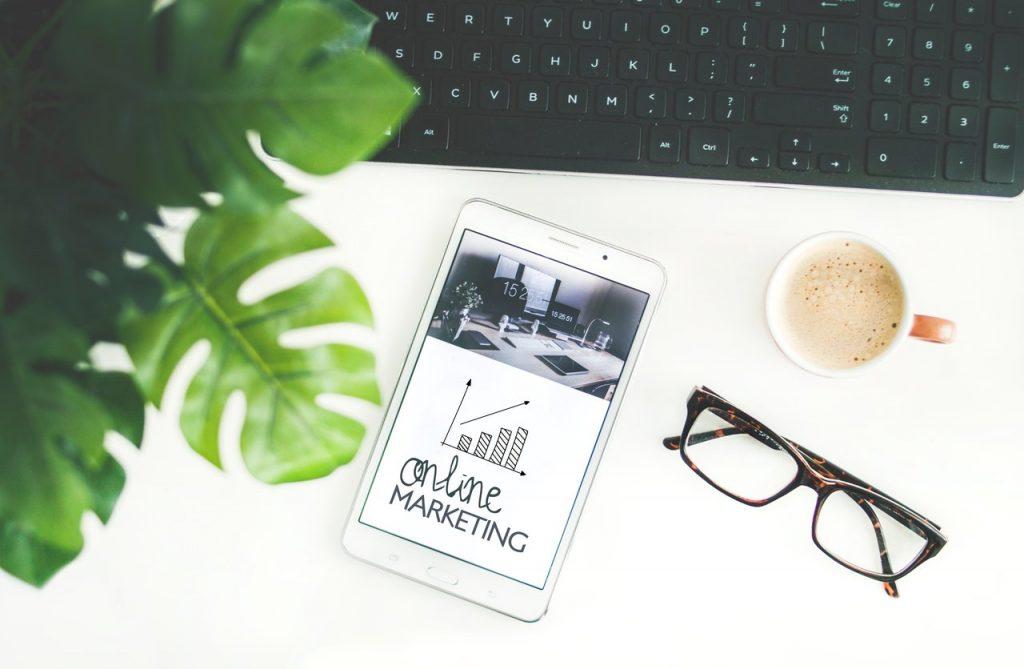 online digital marketing on a mobile app