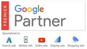 Google partner certificate: Seek Social