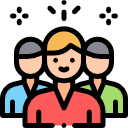 local seo team icon with transparent background