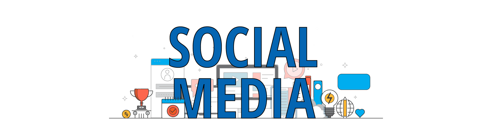 seek social social media header with transparent background