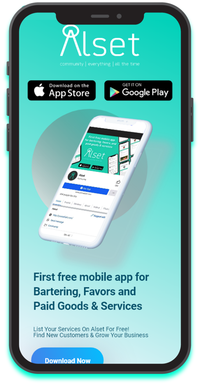 Alset app download on mobile for app store and google play